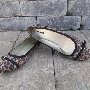 Alia Flat Animal print shoes